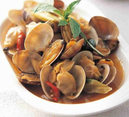 【Taiwan Cuisine】Fried clams with sesame oil