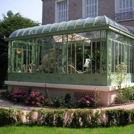 Veranda En Fer Forge Victorian Greenhouses Winter Garden Interior Garden
