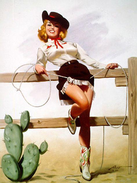 ideas vintage women illustration retro pin up