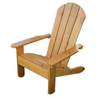 Build An Adirondack Chair In Adult And Child Sizes Includes Step