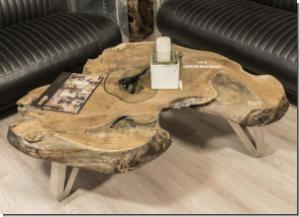 Der Tischonkel Couchtische Aus Einer Baumscheibe In 2020