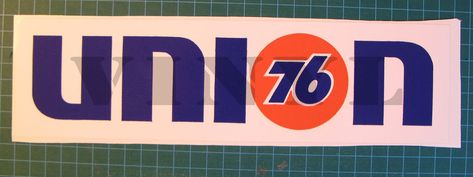 union 76 sticker//decal Racing