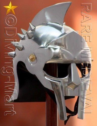 Helmet of the Spaniard Maximus Roman Gladiator