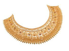 Senco Gold Bangle Google Search Gold Necklace Indian Bridal Jewelry Gold Jewelery Gold Jewelry Fashion