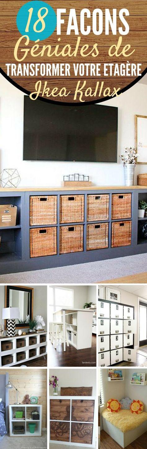 Relooker un meuble IKEA avec des palettes! 20 exemples inspirants
