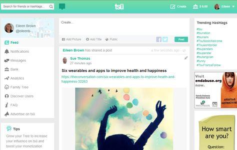 New social network Tsu shares ad revenue with content creators | ZDNet