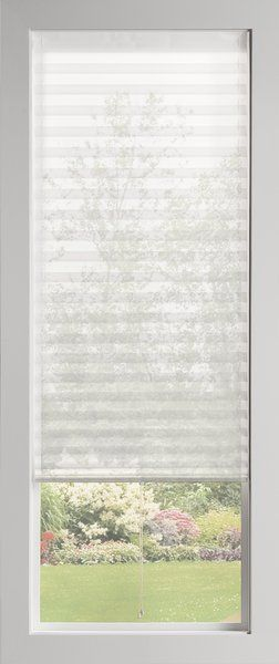 Baliblinds Semi Sheer White Pleated Shade In 2020 Motorized Window Shades Bali Blinds Pleated Shade