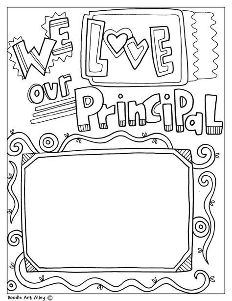 Celebrate School Principal S Day And Month With Fun Printables And