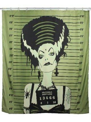 Shower Curtain The Bride Of Frankenstein