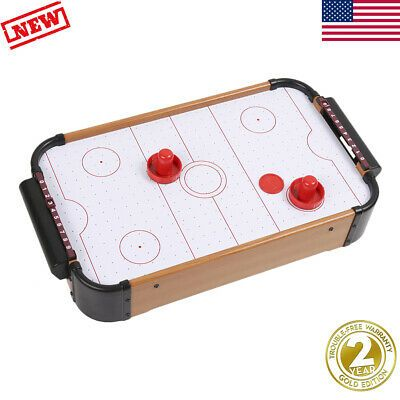 Advertisement Ebay 20 Air Hockey Game Mini Table Top Fun Battery Operated Blower For Home Party Us Air Hockey Games Air Hockey Table Air Hockey