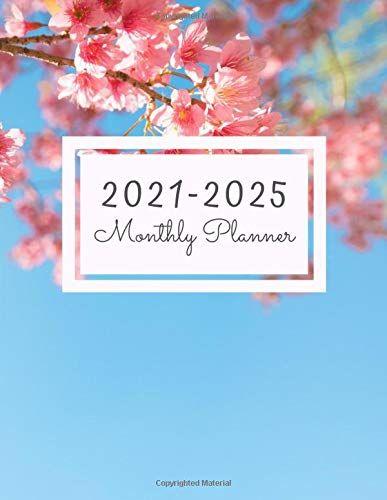 2021 2025 Monthly Planner 60 Monthly Calendar January 2021 December 2025 Address Book Letter Password Tracker R In 2020 Book Letters Planner Monthly Planner