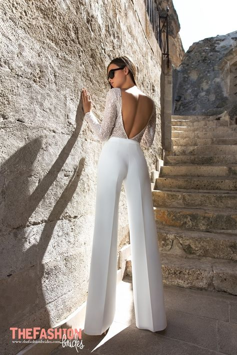 Wedding Gown Guide: Pantsuit – The FashionBrides