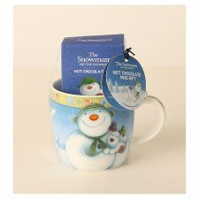 Snowman And Snowdog Hot Chocolate Mug Hot Chocolate Mug