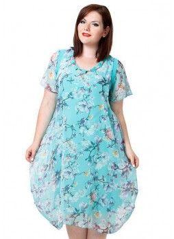 ca5ea6e876e6 31 005 Платье (батал)   Лето платья   Одежда больших размеров ...