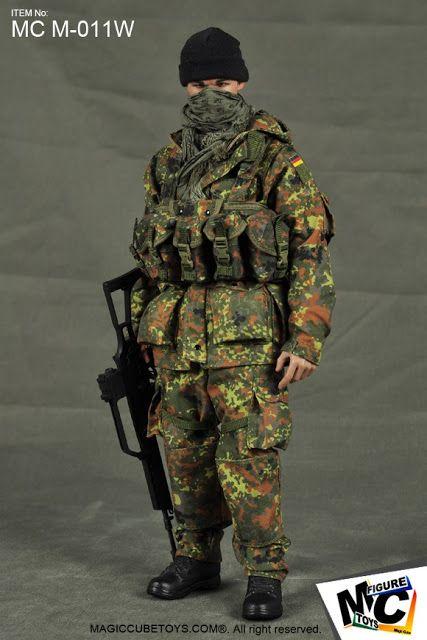 Female Soldiers Head Carving 1//6 Female Soldier Zubehör Green Plastic