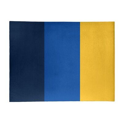 East Urban Home Nhs National Hockey Stripes Royal Blue Area Rug In 2021 Blue Color Schemes Blue Palette Blue Shades Colors