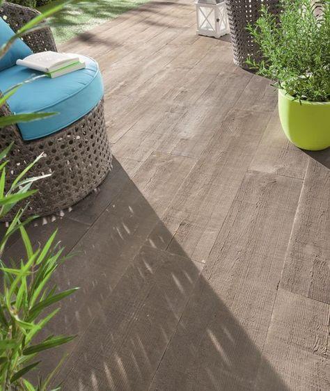 3 Terrasses Chics Pour Un Effet Choc Carrelage Terrasse Exterieur Revetement Terrasse Et Terrasse Imitation Bois