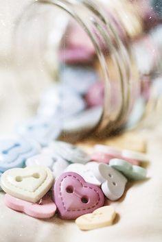 Heart buttons ♡