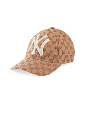 6ef72778 GUCCI New York Yankees Logo Baseball Cap. #gucci # | Gucci ...