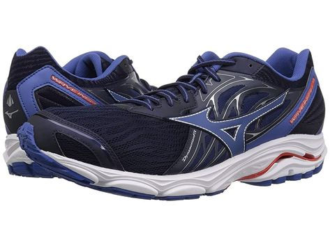 Mizuno Wave Inspire 14 (Evening BlueCherry Tomato) Men's