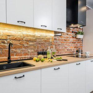 Mala Kuchnia Z Salonem Najlepsze Realizacje 20 Zdjec Doradzamy Mam Kuchnie Kitchen Interior Kitchen Home