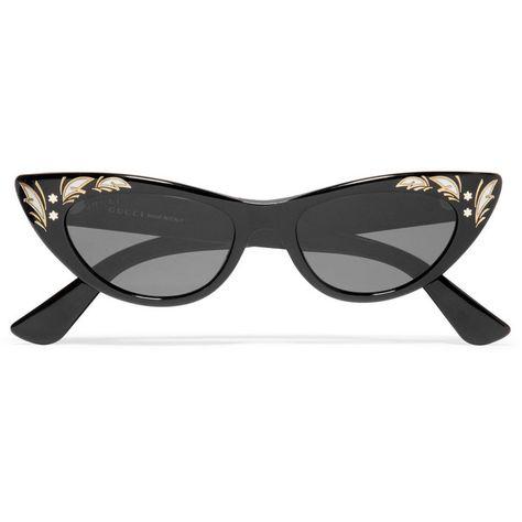 2f3149c80e9 Gucci Cat-eye acetate sunglasses (6