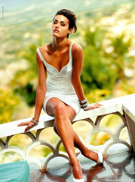 White dress with a tan <3 (love this neckline!)