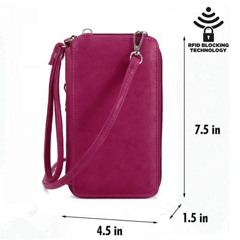 574bdf391 Hot-sale designer Brenice Women Solid Flap Card Bag Phone Bag Crossbody Bag  Online - NewChic Mobile