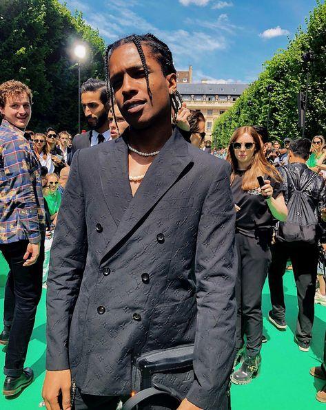 A$AP Virgil Abloh-Designed Louis Vuitton Suit