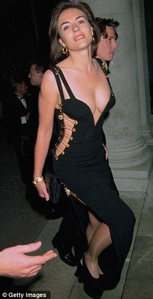 It wasn't until she wore this Versace safety pin dress, that people really began to sit up and take notice of model Elizabeth Hurley. This dress has now made hundreds of top 10 lists of the most iconic dresses of all time.
