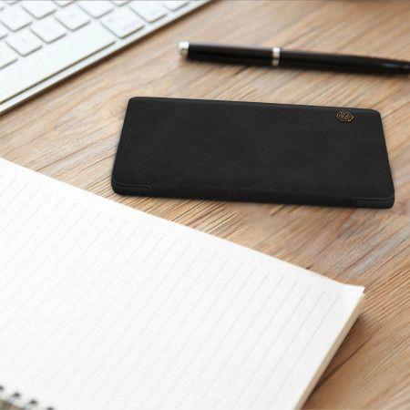 Etui Folio Cuir Ultra Fin Qin By Nillkin Noir P Samsung Galaxy