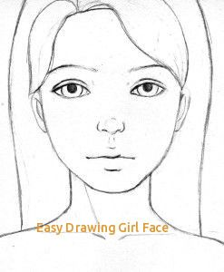 Easy Drawing Girl Face 17 Best Ideas About Girl Face Drawing On Pinterest Of Easy Drawing Girl Face Awesome Simple Face Drawing Face Drawing Girl Face Drawing