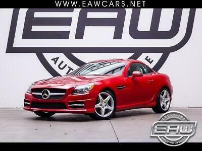 Ebay Advertisement 2012 Mercedes Benz Slk Class 2dr Roadster Slk