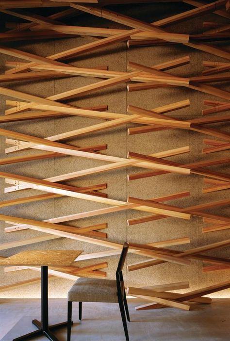 Architect Kengo Kuma design for Starbucks coffee house in Fukuoka, Japan. Man, I wish my Starbucks looked like this!