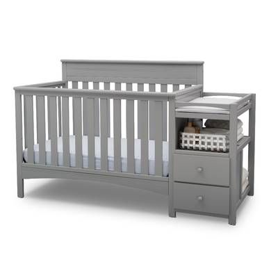 Brody 3 In 1 Convertible Crib And Changer Convertible Crib Cribs Delta Children