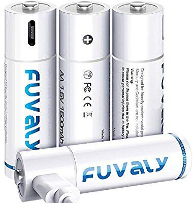 Amazon Com Usb Rechargeable Aa Batteries 1500mah High Capacity 1 5v Fast Charging Lithium Recharge Usb Rechargeable Battery Usb Charger Rechargeable Batteries