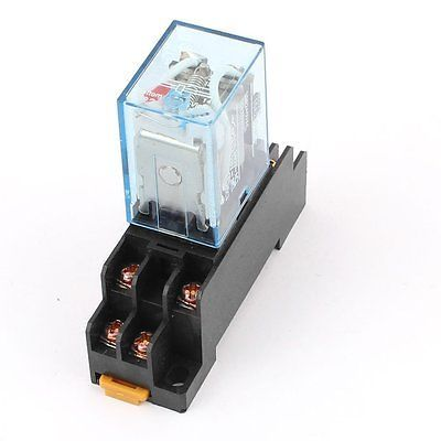 Us 6 86 Ac 110v Coil Power Relay 10a Dpdt Ly2nj With Ptf08a Socket Base Coil Power Relay Power Relayrelay 10a Laliexpress Relay Sockets Coil