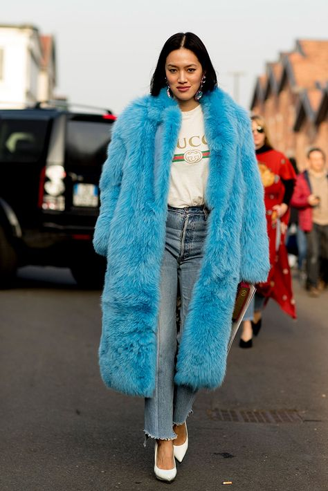 The Best Street Style Looks From Milan Fashion Week Fall 2017 - Fashionista Source by shopbando fashion street style