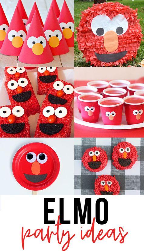 Diy Elmo Birthday Party, Baby Boy First Birthday, Farm Birthday, Mickey Party, Boy Birthday Parties, Birthday Banners, Birthday Invitations, Birthday Ideas, Elmo Party Decorations