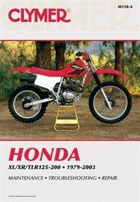Honda Xl Xr Tlr125 200 1979 2003 Clymer Honda Repair Manuals