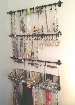 100 Best Diy Closet Organization Ideas Jewelry Organizer Wall