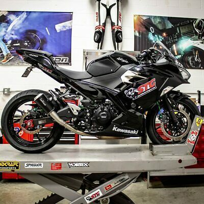Anzeige Ebay Leo Vince Kawasaki Ninja 400 2018 Lv 10 Slip On Auspuffbla Exhausts And Exhaust Kawasaki Ninja Kawasaki Motorcycle Parts And Accessories