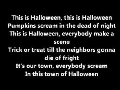 This is halloween Panic at the disco LYRICS | music | Pinterest ...