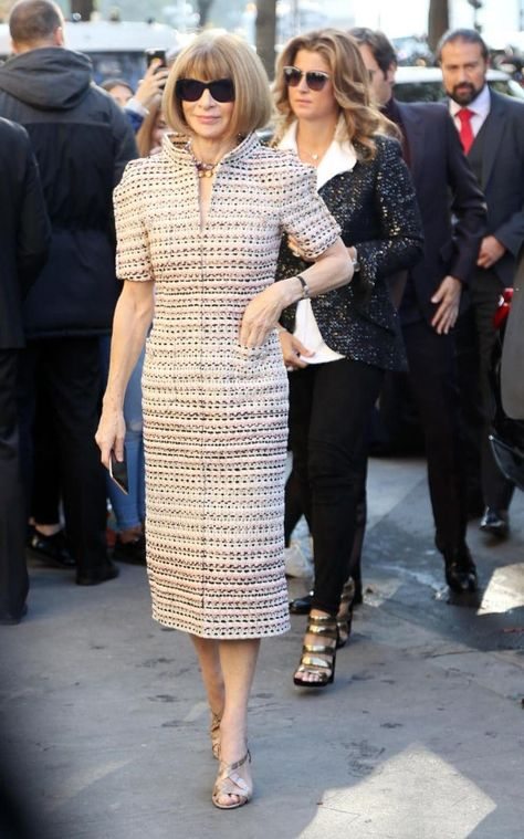 Anna Wintour, Editor of American Vogue