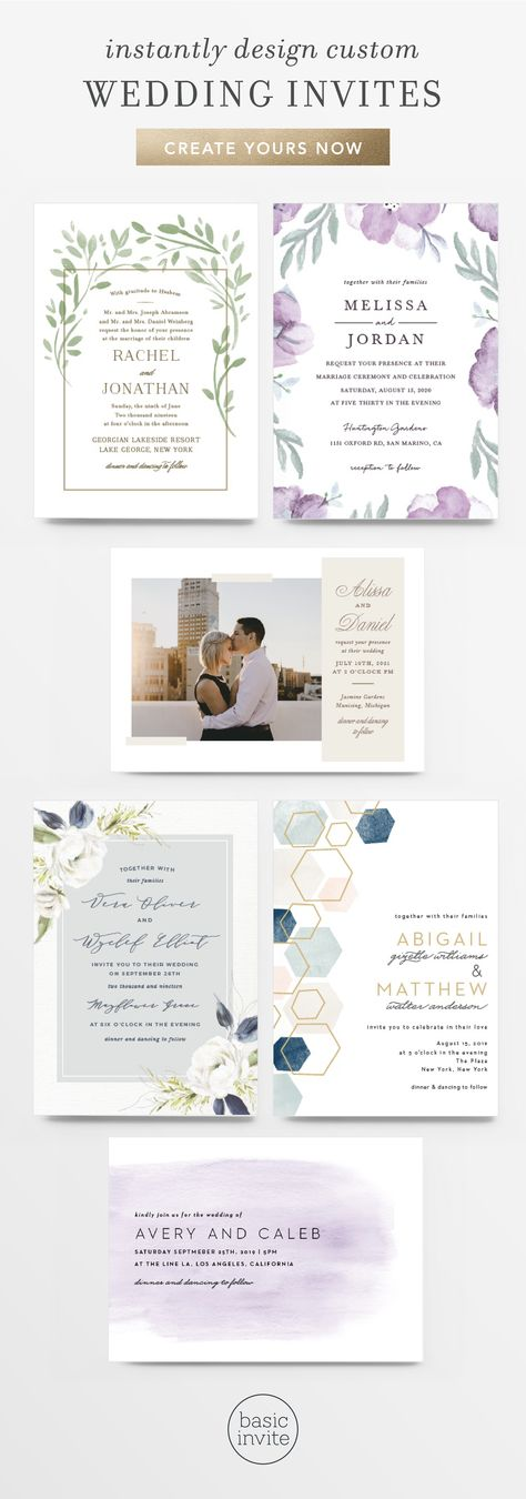 1000 Wedding Invitations That Can Be Customized Instantly Online With Your Text Colors Free Guest Address Envelope Printing With Wedding Invitations