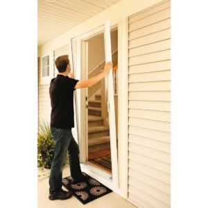 How To Repair Rotted Wood Retractable Screen Door Sliding