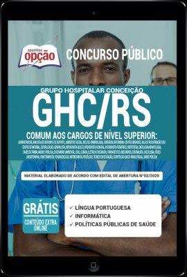 Apostila Ghc Rs Pdf 2020 Comum Aos Cargos De Nivel Superior Em