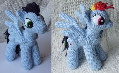 tutorial amigurumi little pony for beginners free pattern part 1 ... | 247x400
