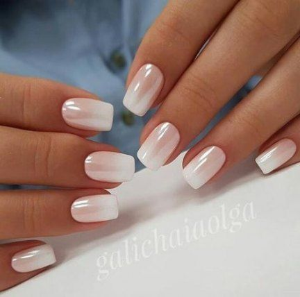 Pink Short Square Nails Design Natural Nails Design Pretty Short Nails Cute Square Nails Square Nails Short Square N Oje Fikirleri Tirnak Tirnak Fikirleri