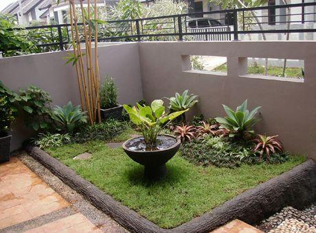 kolam ikan kecil minimalis - google search   jardines